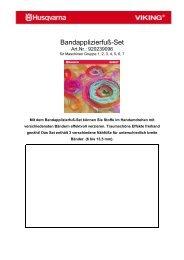"""""""Spezial Candelwicking"""" Fuß - Naehpark.com"""