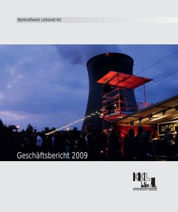 Geschäftsbericht 2009 - Kernkraftwerk Leibstadt AG
