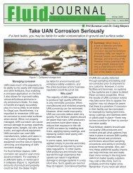 Take UAN Corrosion Seriously - Nalco