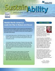 Nestlé North America - Nalco