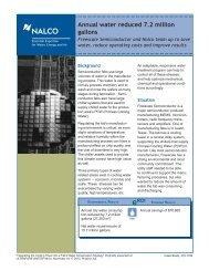 Case Study - Nalco