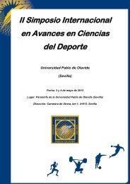 II Simposio Internacional en Avances en Ciencias del Deporte