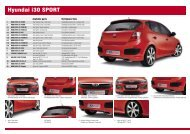 Hyundai i30 SPORT - MS Design