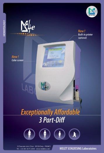 New ! - MELET SCHLOESING Laboratoires