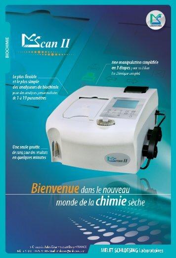 Brochure MScan II - MELET SCHLOESING Laboratoires
