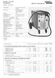 MIG/MAG-Schweißgeräte - ms Projektierung GmbH