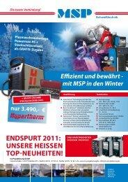 ENDSPURT 2011 - ms Projektierung GmbH