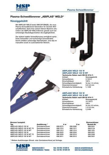 ABIPLAS® WELD - ms Projektierung GmbH