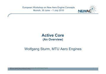 Active Core - MTU Aero Engines