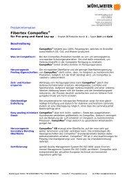 Fibertex Compoflex - Mühlmeier GmbH
