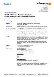 Brandschutzharz - Mühlmeier GmbH