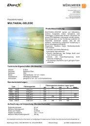 MULTIAXIAL-GELEGE - Mühlmeier GmbH