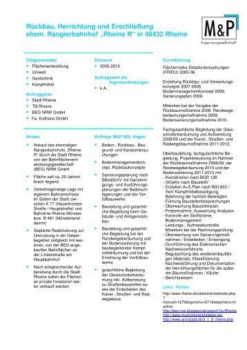 Rheine R - Mull und Partner