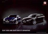 SEAT EXEO UND SEAT EXEO ST ADVANTAGE - J.H. Keller AG