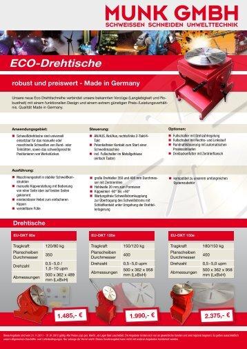 ECO-Drehtische