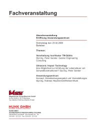 Fachveranstaltung - MSS Magdeburger Schweißtechnik GmbH