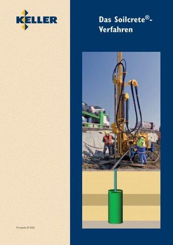 67-03D / Das Soilcrete Verfahren - Keller-MTS