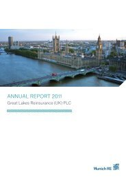 ANNUAL REPORT 2011 - Great Lakes Reinsurance ... - Munich Re