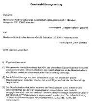 Akademie Schloss Hohenkammer GmbH ... - Munich Re