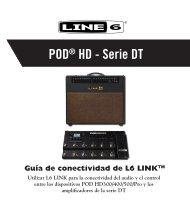Line 6 POD® HD-DT Series L6 LINK ... - Musik Produktiv