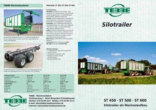"""Silotrailer"" Deutsch - Tebbe"