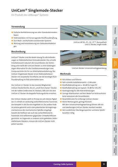 LWL – Glasfaser-Steckverbinder