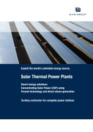 Solar Thermal Power Plants - M+W Group
