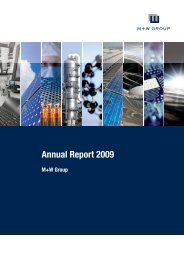 Annual Report M+W Group 2009