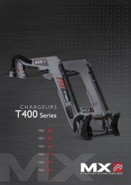 Voir la documentation T400 - MX