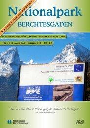 Nationalparkzeitung Nr. 28 - Nationalpark Berchtesgaden - Bayern
