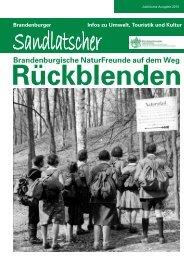 zum Sandlatscher - Naturfreunde Brandenburg