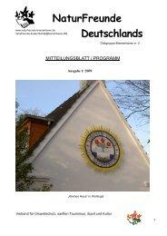 Programmheft 1.2009 - Naturfreunde-Bremerhaven