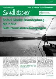Sandlatscher - NaturFreunde Brandenburg