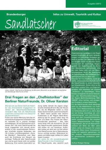 Zum Sandlatscher 2/12 (PDF) - NaturFreunde Brandenburg
