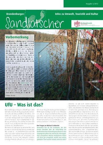 Zum Sandlatscher 3/12 (PDF, 2 MB) - NaturFreunde Brandenburg