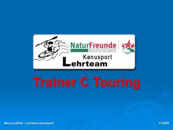 Trainer C - Touring (PDF-Download | 2,8 Mb