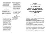 Satzung - Naturfreunde Nienburg