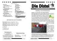 Die Distel - Januar bis März 2010 - Naturfreunde Nienburg