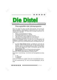 Die Distel - April bis Mai 2010 - Naturfreunde Nienburg