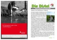 Die Distel - Naturfreunde Nienburg