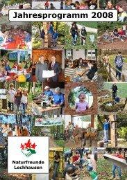 Jahresprogramm 2008 - Naturfreunde Lechhausen e.V.