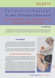 5_2006: Reflexzonenmassage in der Schmerztherapie