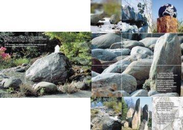 Prospekt Reinhard 2 Seiten - Reinhard Natursteine