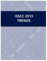ISSCC 2013 – TECHNOLOGY TRENDS