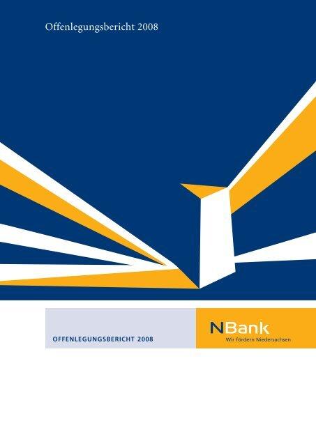 Offenlegungsbericht 2008 - bei der NBank