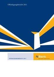 Offenlegungsbericht 2011 - bei der NBank