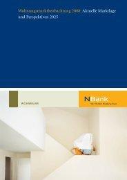 Wohnungsmarktbeobachtung 2008: Aktuelle ... - bei der NBank