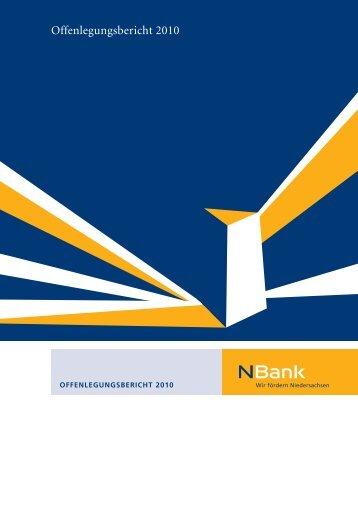 Offenlegungsbericht 2010 - bei der NBank