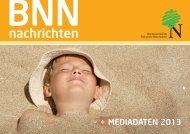 BNN-Nachrichten Mediadaten (PDF) - Bundesverband Naturkost ...