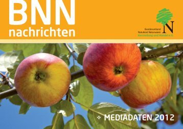 MEDIADATEN 2012 - Bundesverband Naturkost Naturwaren (BNN)